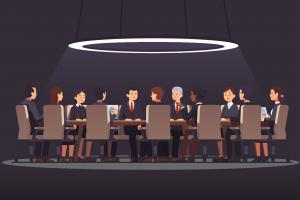 Illustration comité d'entreprise